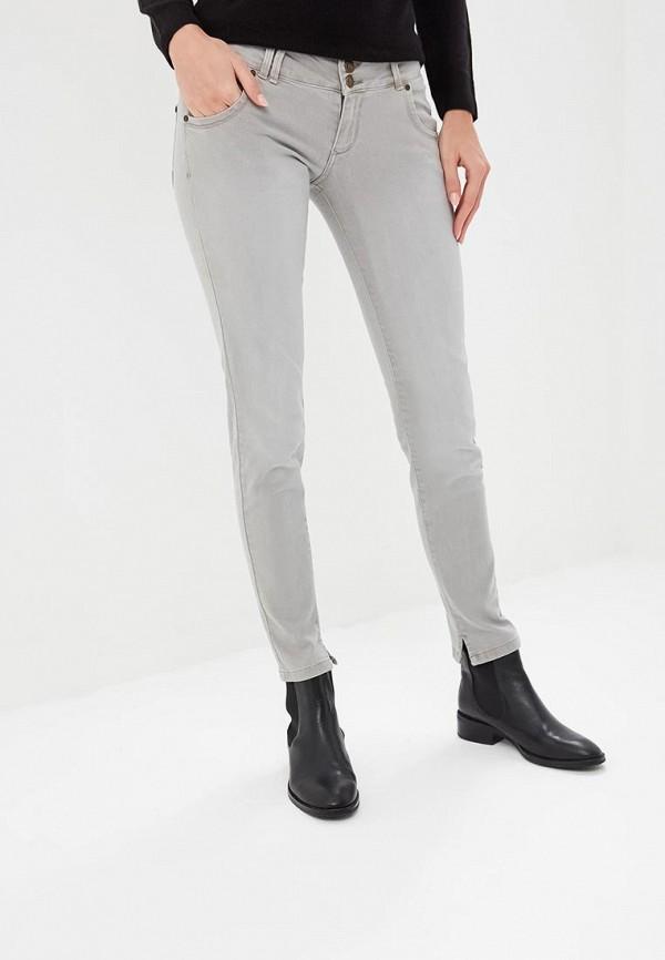 женские повседневные брюки alcott, серые