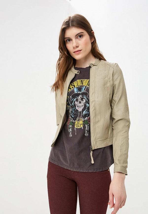 Куртка кожаная Alcott Alcott AL006EWDJYW9