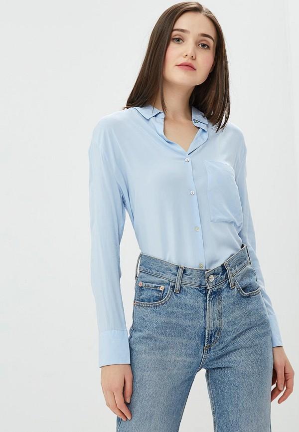 женская блузка alcott, голубая