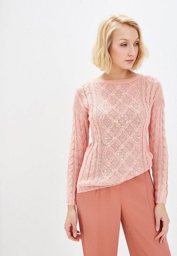 женский джемпер alcott, розовый