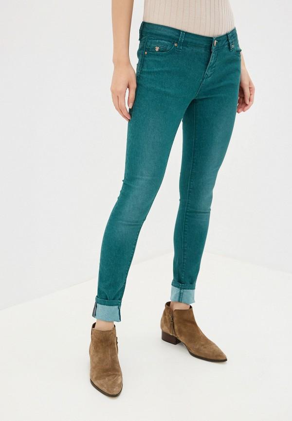 женские повседневные брюки alcott, зеленые