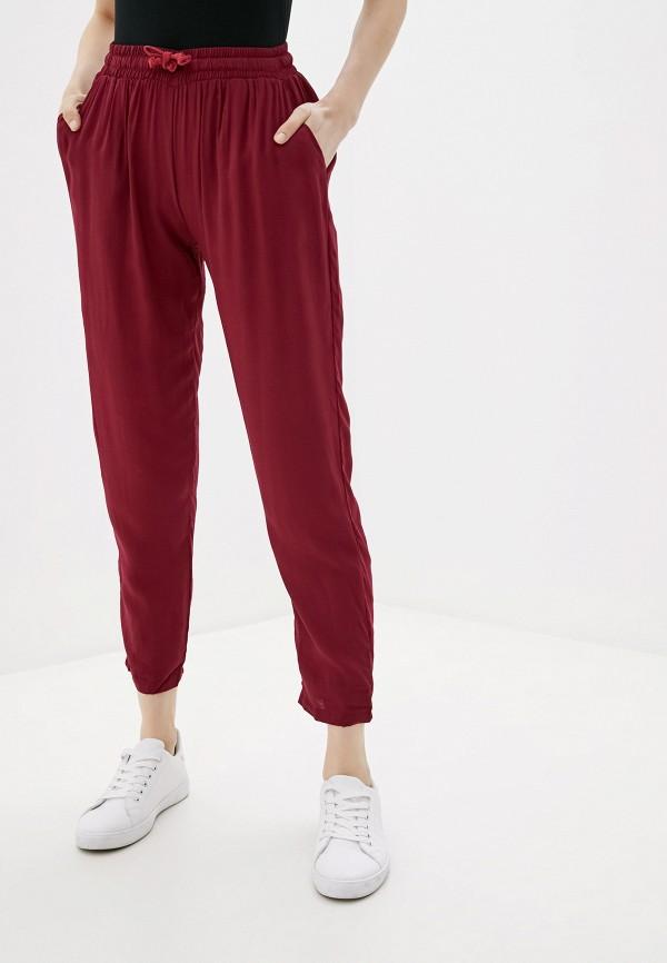 женские брюки alcott, бордовые