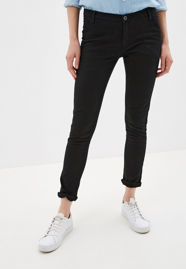 женские повседневные брюки alcott, черные