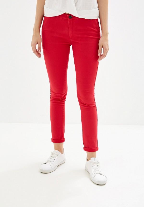 женские повседневные брюки alcott, красные