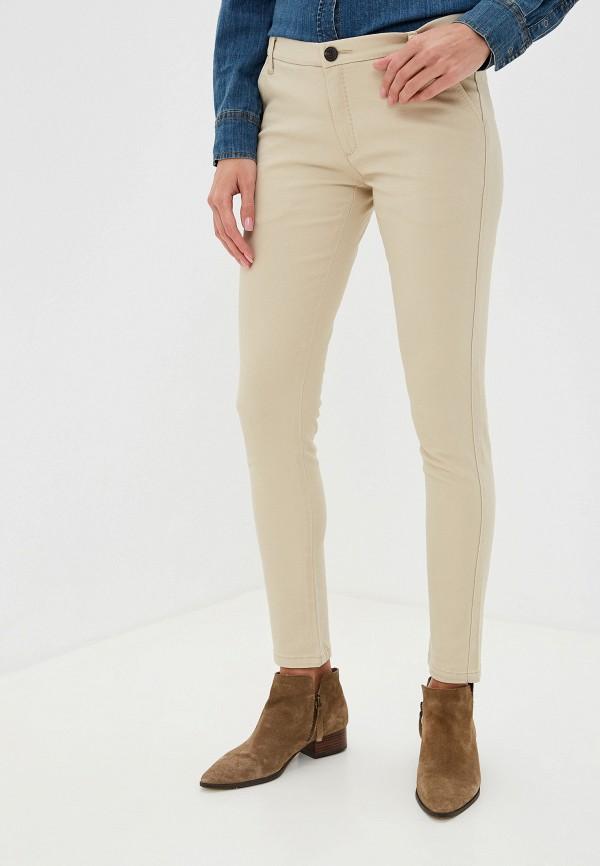 женские повседневные брюки alcott, бежевые