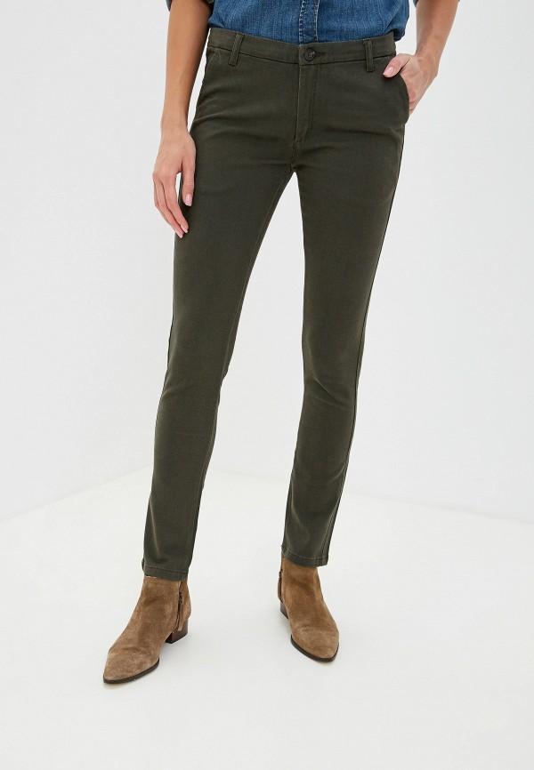 женские повседневные брюки alcott, хаки