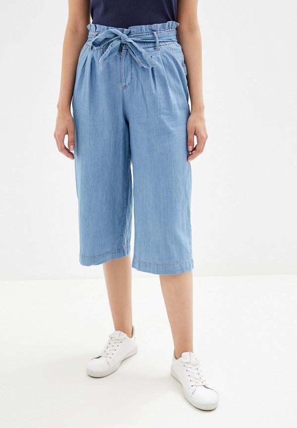 женские брюки alcott, голубые