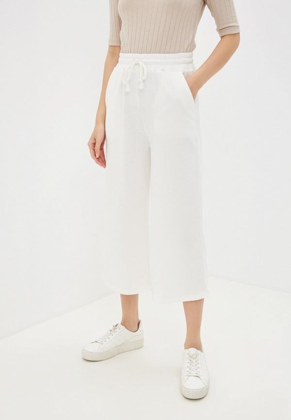 женские брюки alcott, белые