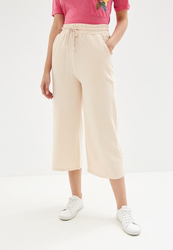женские брюки alcott, розовые