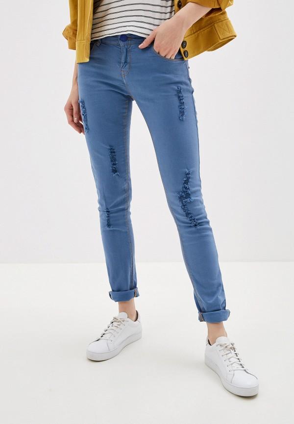 Фото - Женские джинсы Alcott синего цвета