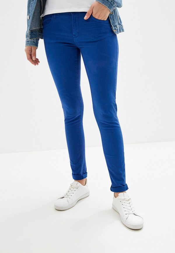 женские повседневные брюки alcott, синие