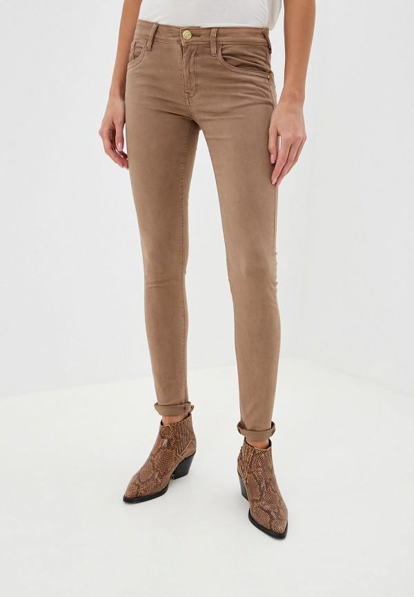женские повседневные брюки alcott, коричневые