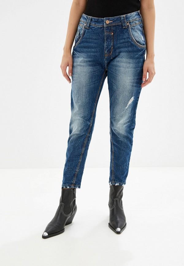 женские джинсы бойфренд alcott, синие