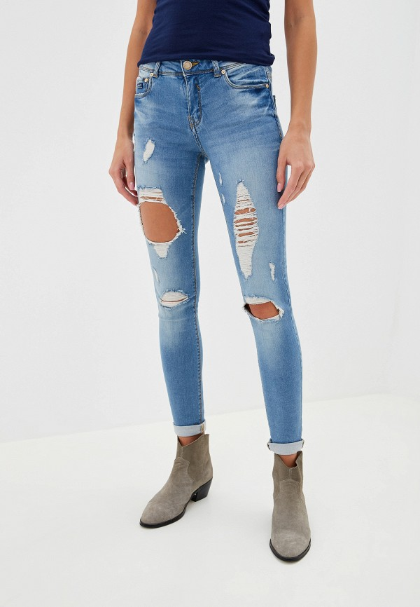 женские джинсы alcott, голубые