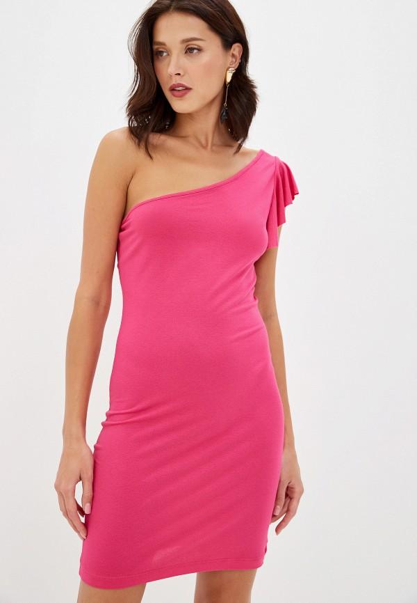 женское повседневные платье alcott, розовое
