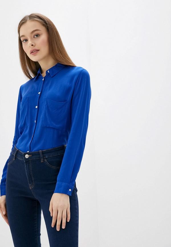 женская блузка alcott, синяя