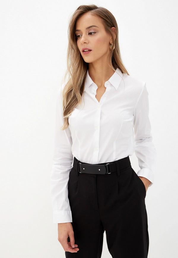 женская рубашка с длинным рукавом alcott, белая