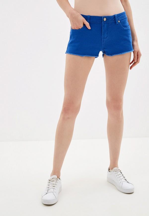 женские джинсовые шорты alcott, синие
