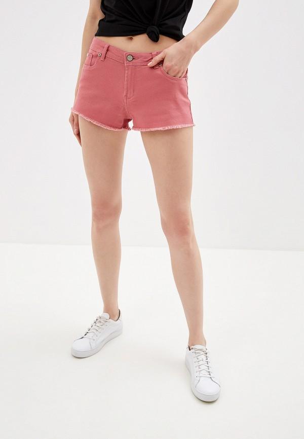 женские повседневные шорты alcott, розовые