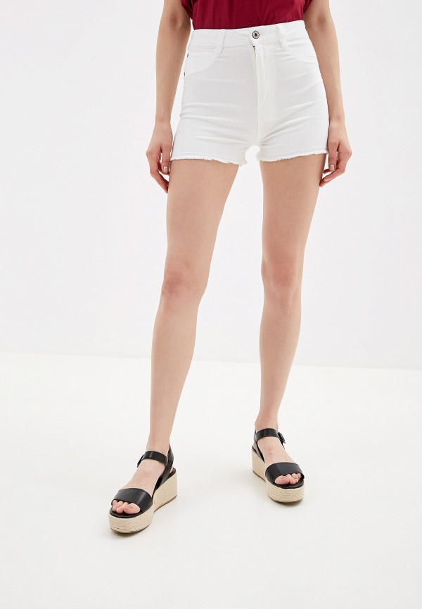 женские джинсовые шорты alcott, белые