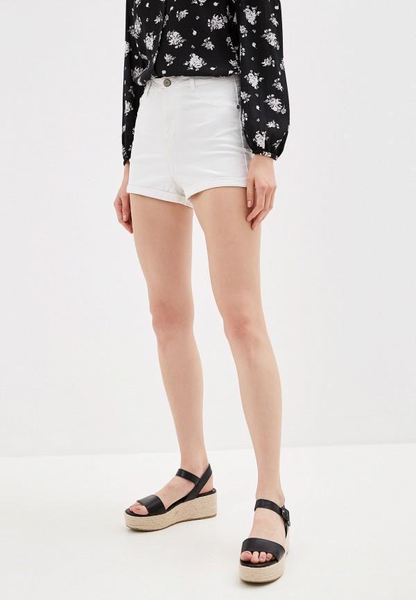 женские повседневные шорты alcott, белые