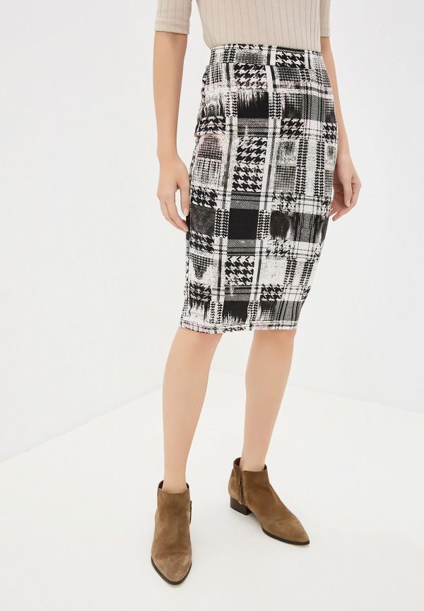 женская зауженные юбка alcott, разноцветная
