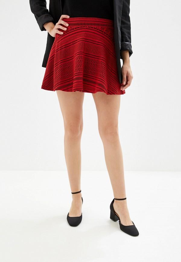 женская юбка alcott, красная