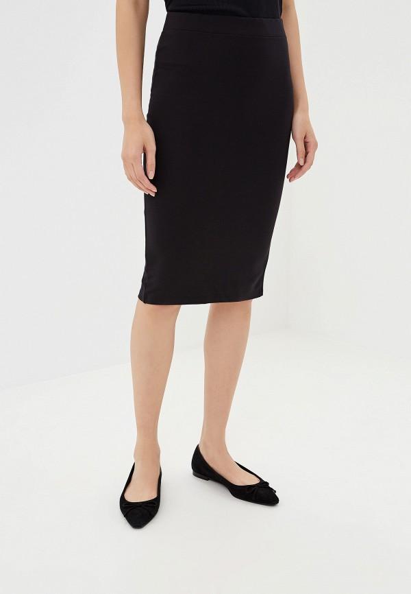 женская зауженные юбка alcott, черная