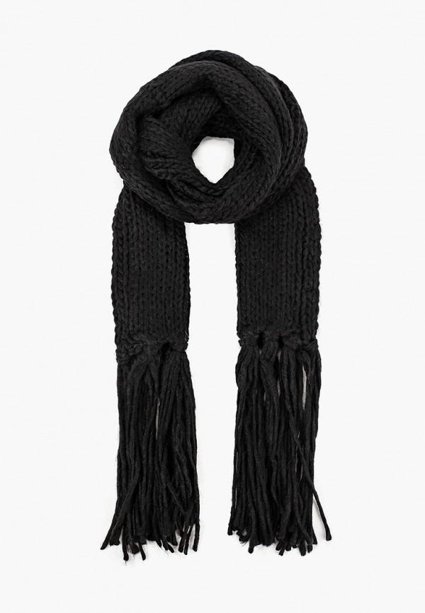 женский шарф alcott, черный