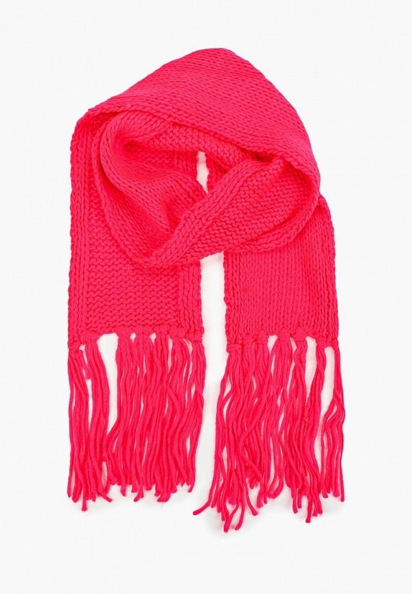 женский шарф alcott, розовый