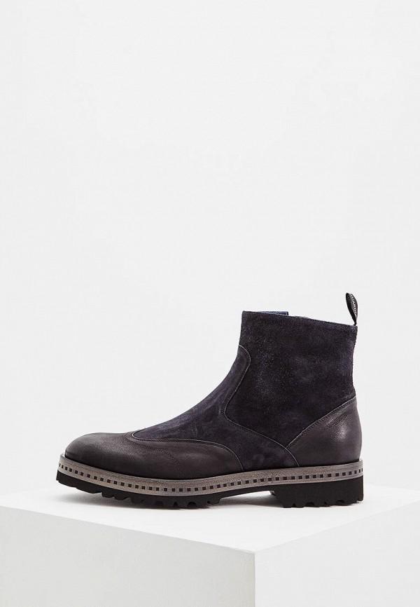 мужские ботинки alberto guardiani, черные