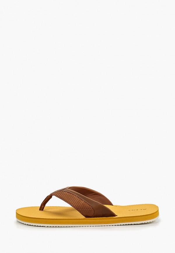 мужские сланцы aldo, коричневые