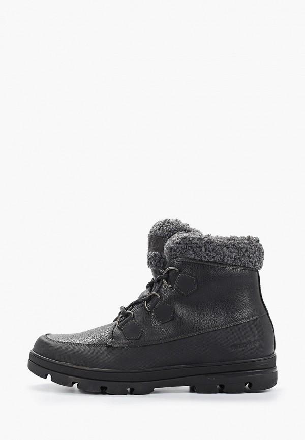 мужские ботинки aldo, черные