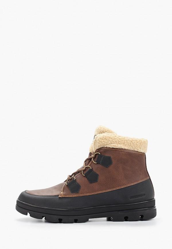мужские ботинки aldo, коричневые