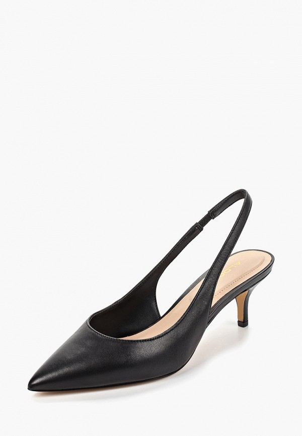 Фото 2 - женские туфли Aldo черного цвета