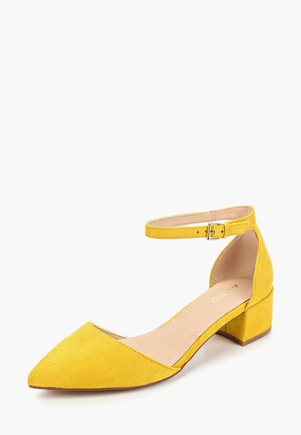 Фото 2 - женские туфли Aldo желтого цвета