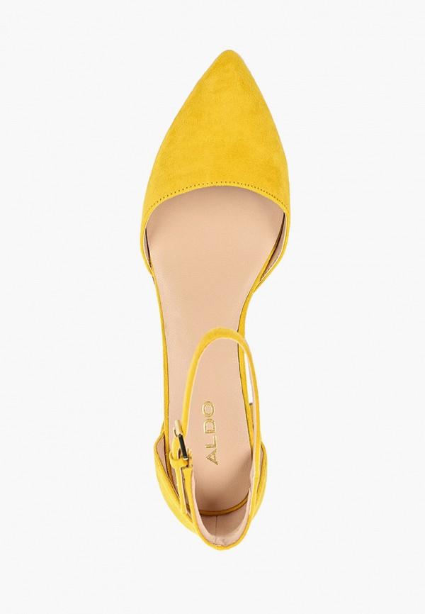 Фото 4 - женские туфли Aldo желтого цвета