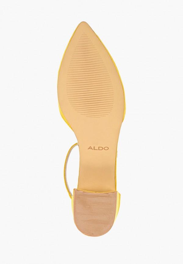Фото 5 - женские туфли Aldo желтого цвета
