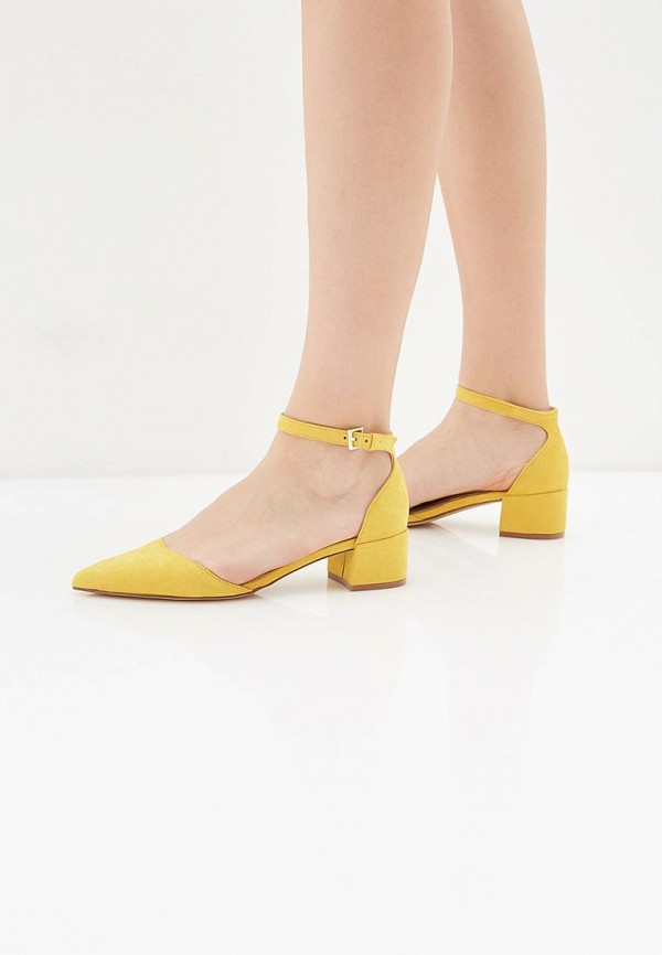 Фото 6 - женские туфли Aldo желтого цвета