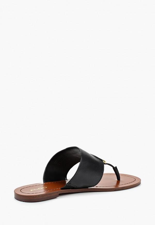 Фото 3 - женские сабо Aldo черного цвета