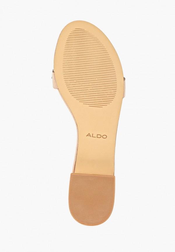 Фото 5 - женские сабо Aldo бежевого цвета