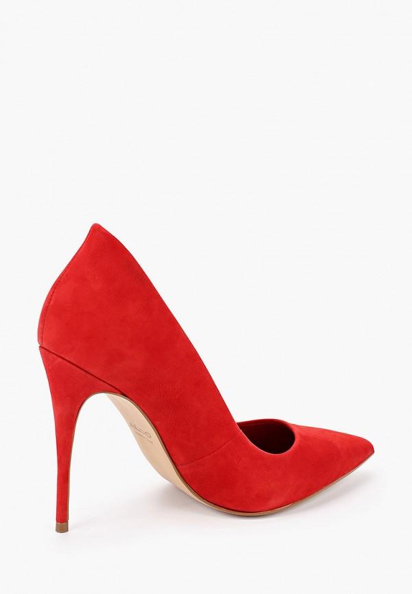 Фото 3 - женские туфли Aldo красного цвета