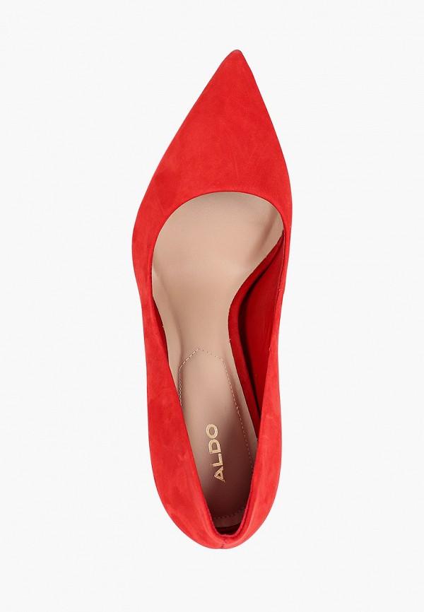 Фото 4 - женские туфли Aldo красного цвета