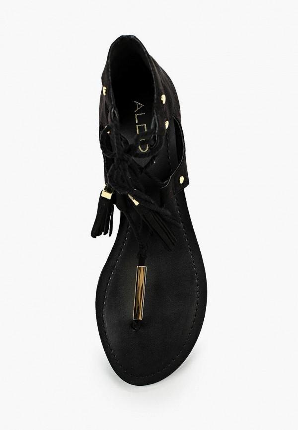 Фото 8 - женские сандали Aldo черного цвета