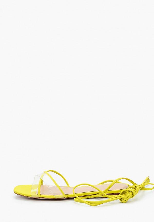 женские сандалии aldo, желтые