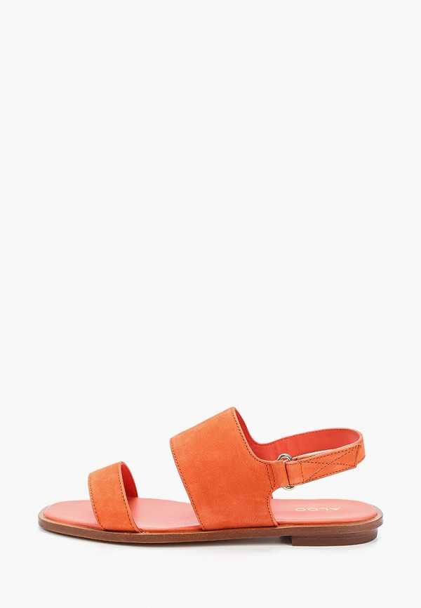 женские сандалии aldo, оранжевые