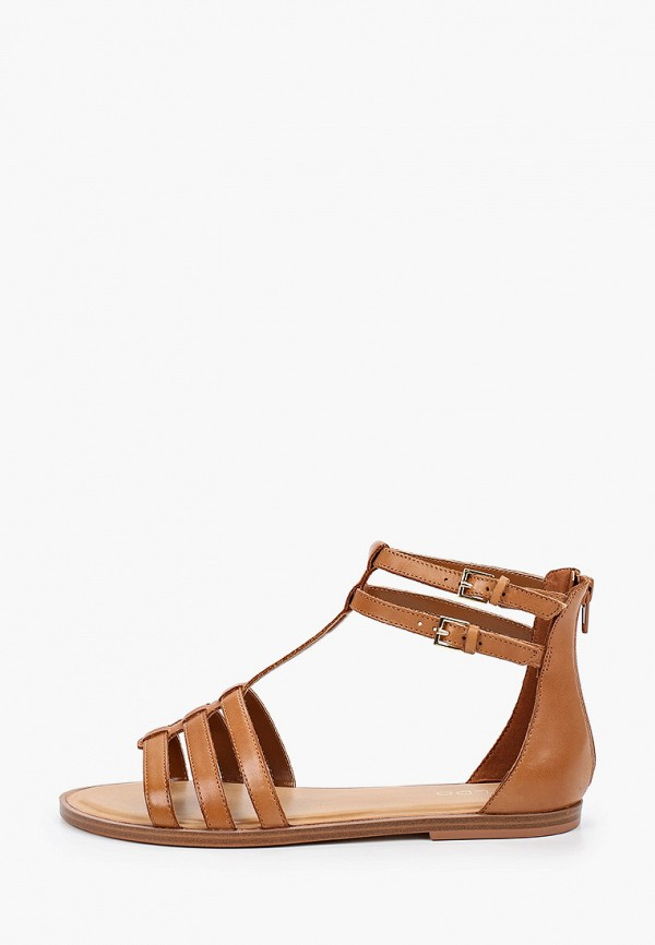 женские сандалии aldo, коричневые