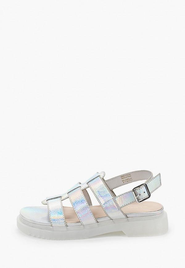 женские сандалии aldo, серебряные