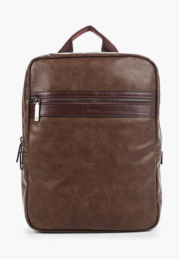 мужской рюкзак aldo, коричневый