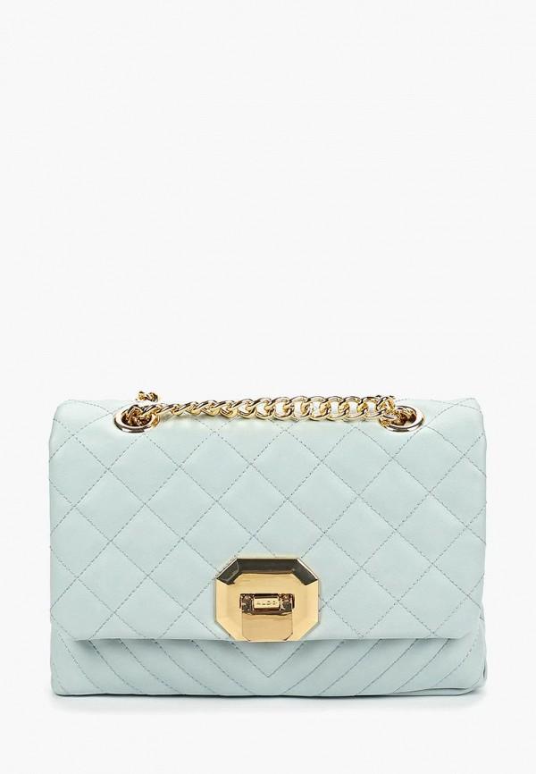 женская сумка aldo, бирюзовая